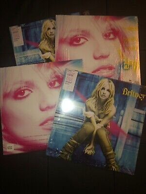 Britney Spears Britney LP Vinyl Rare Limited Promo UO Out Of Stock