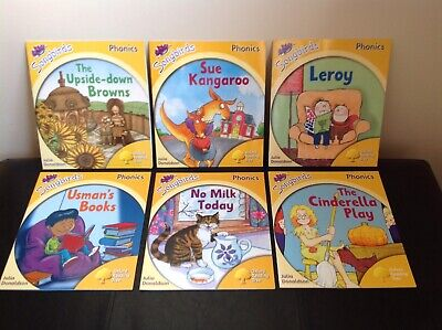 Set 6 books Songbirds Phonics STAGE 5 Oxford Reading Tree Julia Donaldson