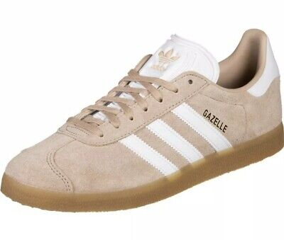 B/0215* Adidas Originals Gazelle Pink Lace Up Trainers Unisex Size UK 5