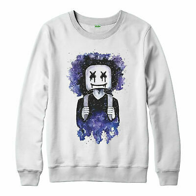 DJ Marshmellow Jumper, Party Costume Rave Music Cool Adult & Kids Jumper Top