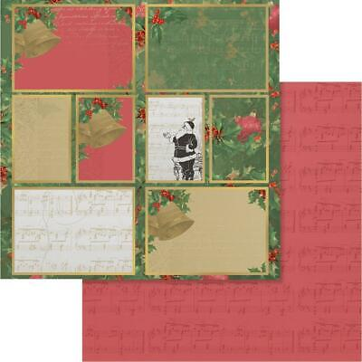 """Couture Creations - NAUGHTY OR NICE 12 - 12x12"""" d/sided scrapbooking paper"""