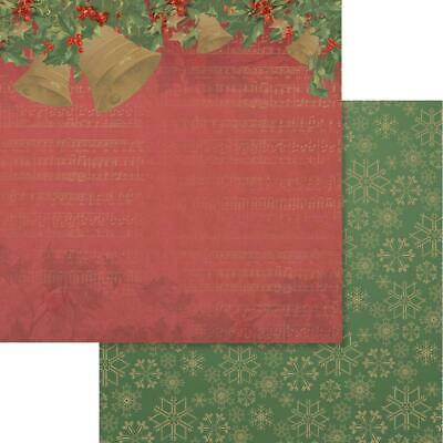 """Couture Creations - NAUGHTY OR NICE 3 - 12x12"""" d/sided scrapbooking paper"""