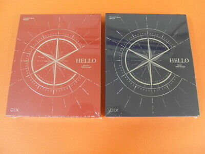CIX - Hello, Stranger (Hello+Stranger Ver.) CD SET + 8 Card +Tracking no. K-POP