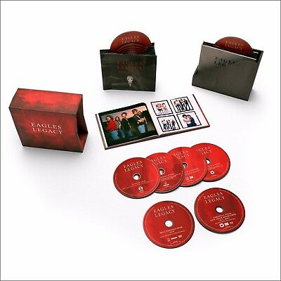 """The Eagles """"Legacy"""" Collection 12 CD/1 DVD/1 Blu-Ray/Booklet Box Set"""