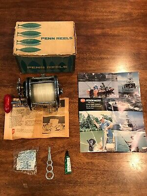 PENN 712 Z Spinning Fishing Reel Excellent Working Condition