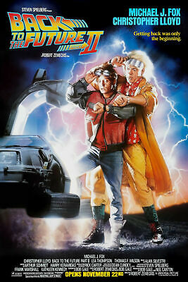 NEW BACK TO THE FUTURE 2 Movie Art Silk Poster 12x18 24x36