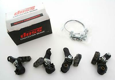 DASS Cantilever Bike Brake Set - Full front and rear (OFFICIAL) Bicycle Brakes