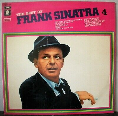 The Best Of Frank Sinatra Vol 4 Vinile Lp 33 Giri Nm Near Mint Rarissimo