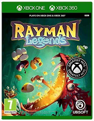 Rayman Legends Microsoft Xbox One and Xbox 360 Game ** New & Sealed ** FREE P&P