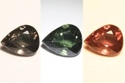 1.15ct Colour Change Garnet - Custom Cut with Rare Superb Colour Change