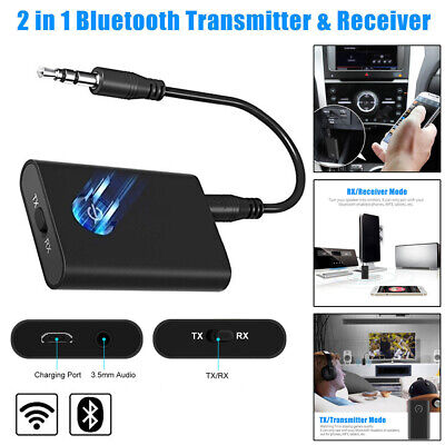 3.5mm Jack HIFI Aux Car Bluetooth Transmitter Receiver Wireless Audio Adapter