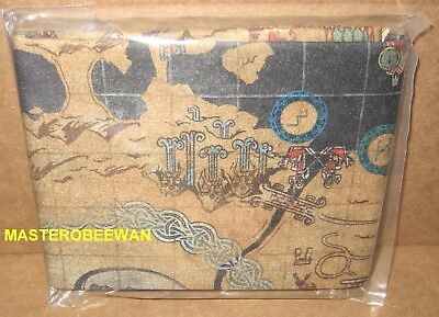 God of War Stone Mason Collector's Edition Cloth Map (Only) New (No PS4 Game)