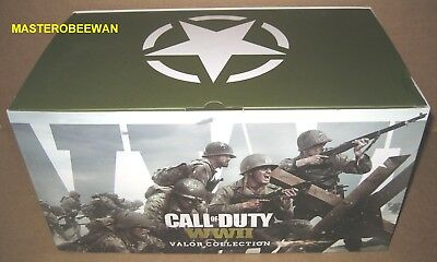 Call of Duty WWII Valor Collection + Game (Sony PlayStation 4, 2017) PS4 New