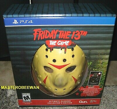 Friday The 13th: The Game Ultimate Slasher Collector's Edition PlayStation 4 PS4