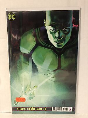 DC's Year of the Villain #1 Alex Maleev Lex Luthor Variant NM-