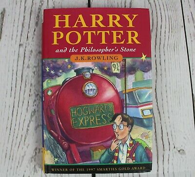 ~Harry Potter and the Philosopher's Stone HARDBACK TED SMART 1ST EDIT. 4TH PRINT