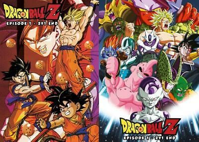 Japan Anime DVD Dragon Ball Z Episode 1 - 291 END Complete English Dubbed IT5