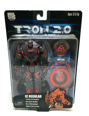 NECA Reel Toys Movie Line Tron 2.0 IC Regular Action Figure MOC Carded FREESHIP