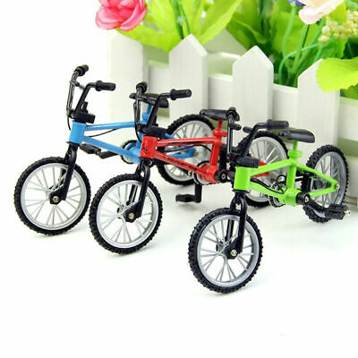 Red Mini Bicycle Bike 1/12 Dollhouse Miniature High Toyshot Quality Decors A6R5