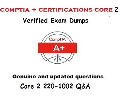 CompTIA A+ Certification : Core 2 220-1002 verfied Exam Q&A