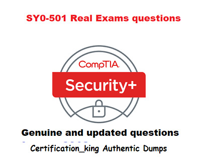 CompTIA Security+ SY0-501  Exam verified questions and answers