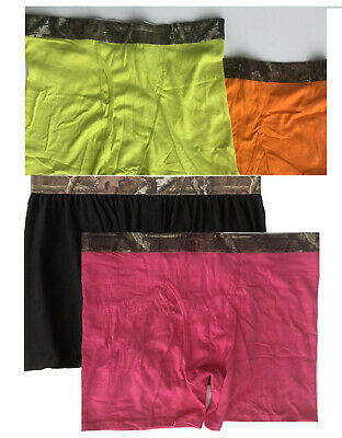 Mossy Oak Men's Knit Boxers, Boxer Briefs Med 32-34 pack of 4