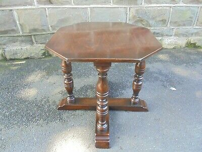 Antique English Ipswich Oak Coffee Table