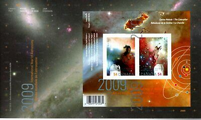 2009 #2323 International Year Of Astronomy S/S FDC with CP cachet