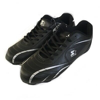 Starter Boy's Athletic All Purpose Cleats Size 6 Black New With Tag