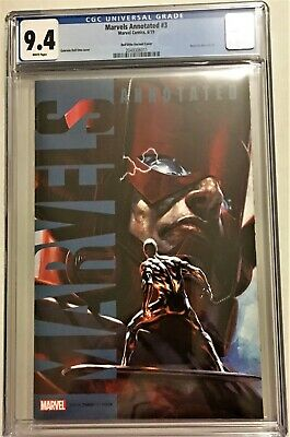Marvels Annotated #3 Cgc 0.4 Gabriele Dell'otto Variant 2019