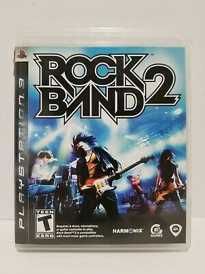 Rock Band 2: Sony PS3 videogame - complete - tested + Warranty - no scratches