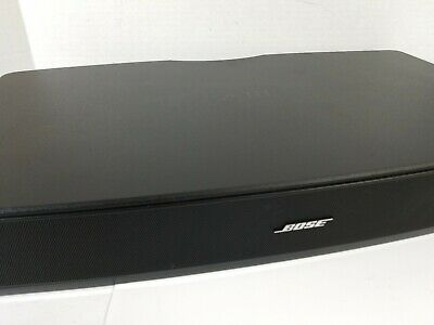 Bose Solo TV Sound System Black No Remote