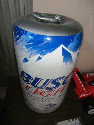 BUSCH LIGHT BEER inflatable can