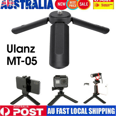 Mini Folding Table Top Camera Stand Tripod Accessory 1/4'' Screw for GoPro AU