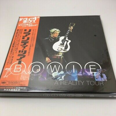 DAVID BOWIE Reality Tour Limited Edition 3 Lp Analog With Obi FROM JAPAN