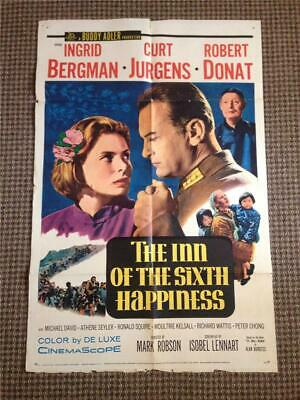 HERE COME THE JETS MOVIE POSTER Original 1959 Folded 27x41 One Sheet