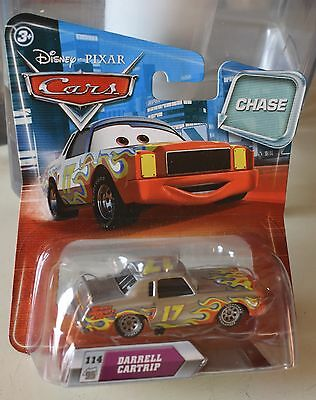 PIXAR CARS DARRELL CARTRIP CHASE CAR NEW NEVER OPENED