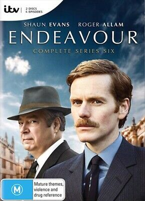 Endeavour Complete Series 6 : NEW DVD