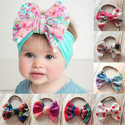 Kid Girl Hair Band Bow Flower Toddler Lace Headwear Headband Accessories Baby
