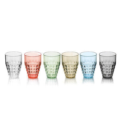 Drinking Glasses Juice Set Plastic 6-teiliges Alto Guzzini High Cookware, Dining & Bar