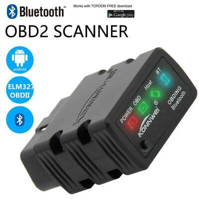 ELM327 OBDII OBD2 Bluetooth Car Scanner Scan Tool Torque Android IOS iPhone