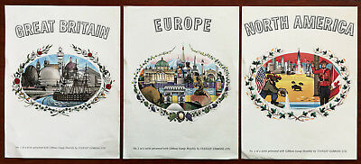 Gibbons Stamp Monthly Great Britain, Europe, North America Enlarged Stamp Prints