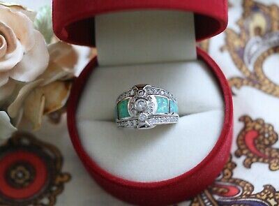 Vintage Jewellery Ring Antique Art Deco Jewelry Size 7 Or N