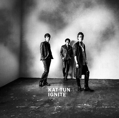 KAT-TUN IGNITE Normal Edition JAPAN CD Free Shipping Johnny's