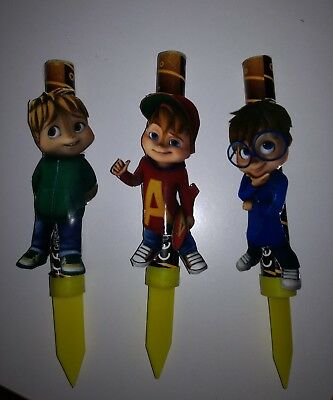 Candela Alvin Superstar And Chipmunks Scoiattolo Fuochetti Torta