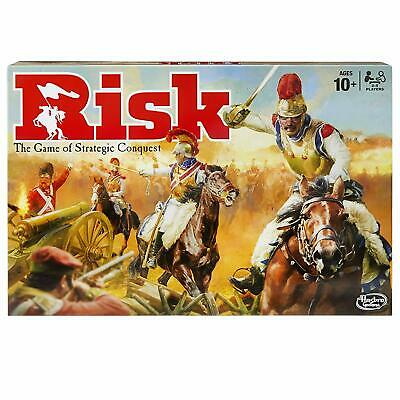 Risk Hasbro Gaming B7404 Board Game 2016 Edition Age 10 And up New Sealed