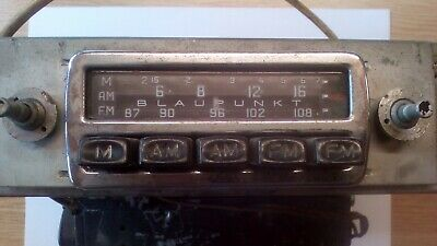 Porsche 356 Blaupunkt Radio and Amplifier