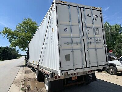 40 Foot High Cube Shipping Container Doors On Both Ends One way ship (new)