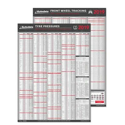 AUTODATA TYRE PRESSURE and Wheel nut Toque Chart 2018  AD18-3300