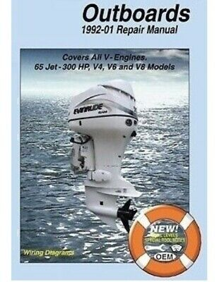 JOHNSON EVINRUDE 65HP 300HP Outboard Repair Service Manual